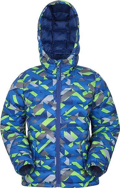 Mountain Warehouse Seasons Jungen Gefütterte Jacke Gefütterte Isolierung Winterjacke, wasserdicht Kinderjacke, Taschen Ideal für den täglichen