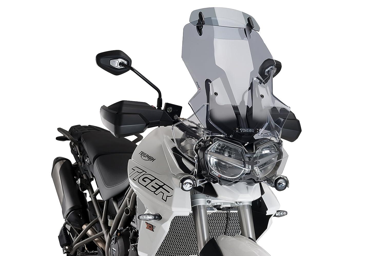 Puig 9710H Touring Screen for Kawasaki Versys-X 300 Smoked