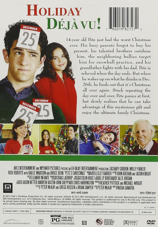 amazoncom petes christmas zachary gordon molly parker bailee madison bruce dern nisha ganatra movies tv - Cast Of Petes Christmas