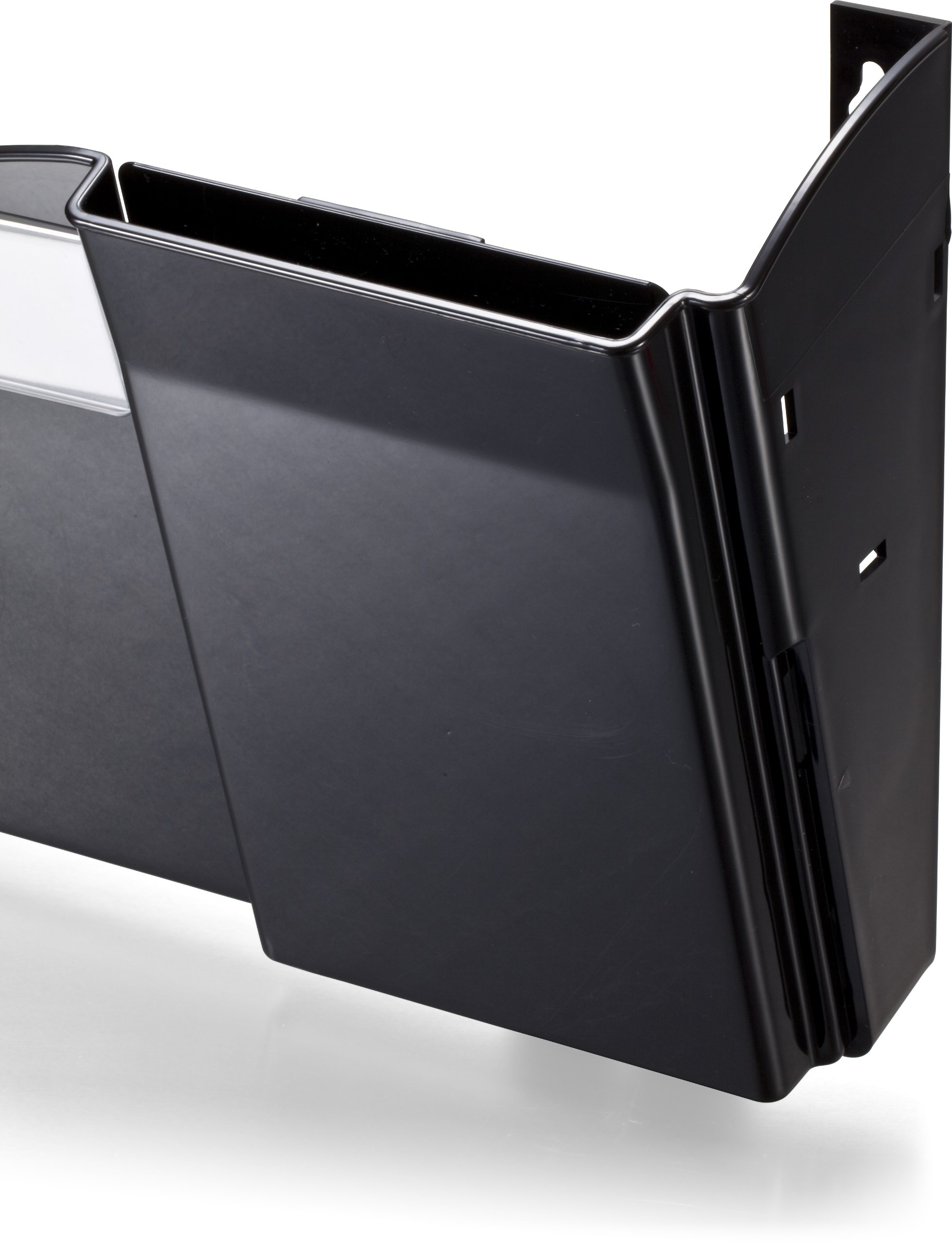 Officemate Grande Centrale Filing System, 4 Pockets, Black (21728) by Officemate