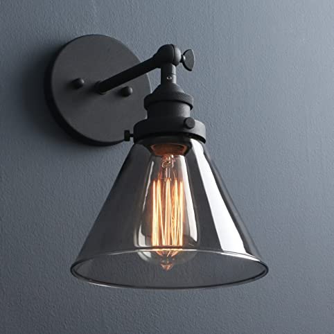Phansthy Edison Industrial Wall Sconce 73 Inch Glass Light Fixture Decorative Lighting For Kitchen