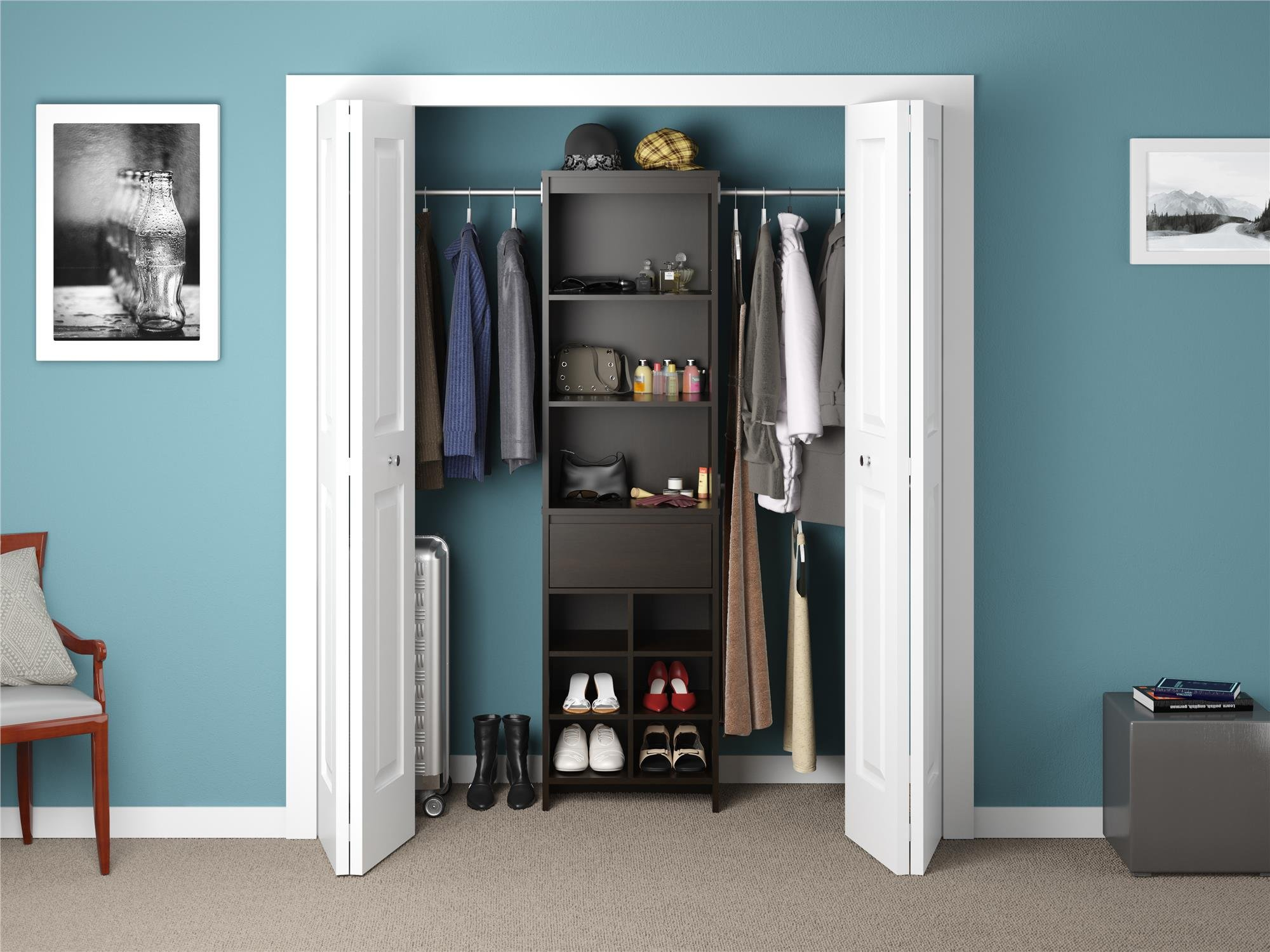 Ameriwood Home Adult Closet System, Espresso by Ameriwood Home (Image #2)