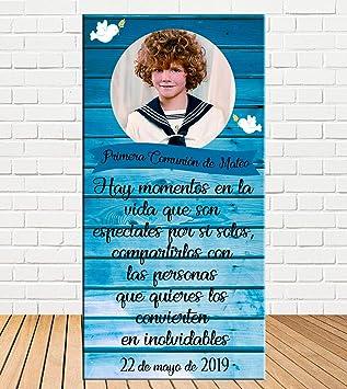 Tu Fiesta Mola Mazo Cartel de Bienvenida de Comunión Efecto ...