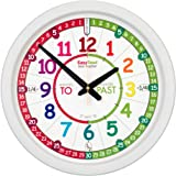 EasyRead Time Teacher Learn The Time Rainbow Classroom Past/to Wall Clock #ERCC-COL-PT
