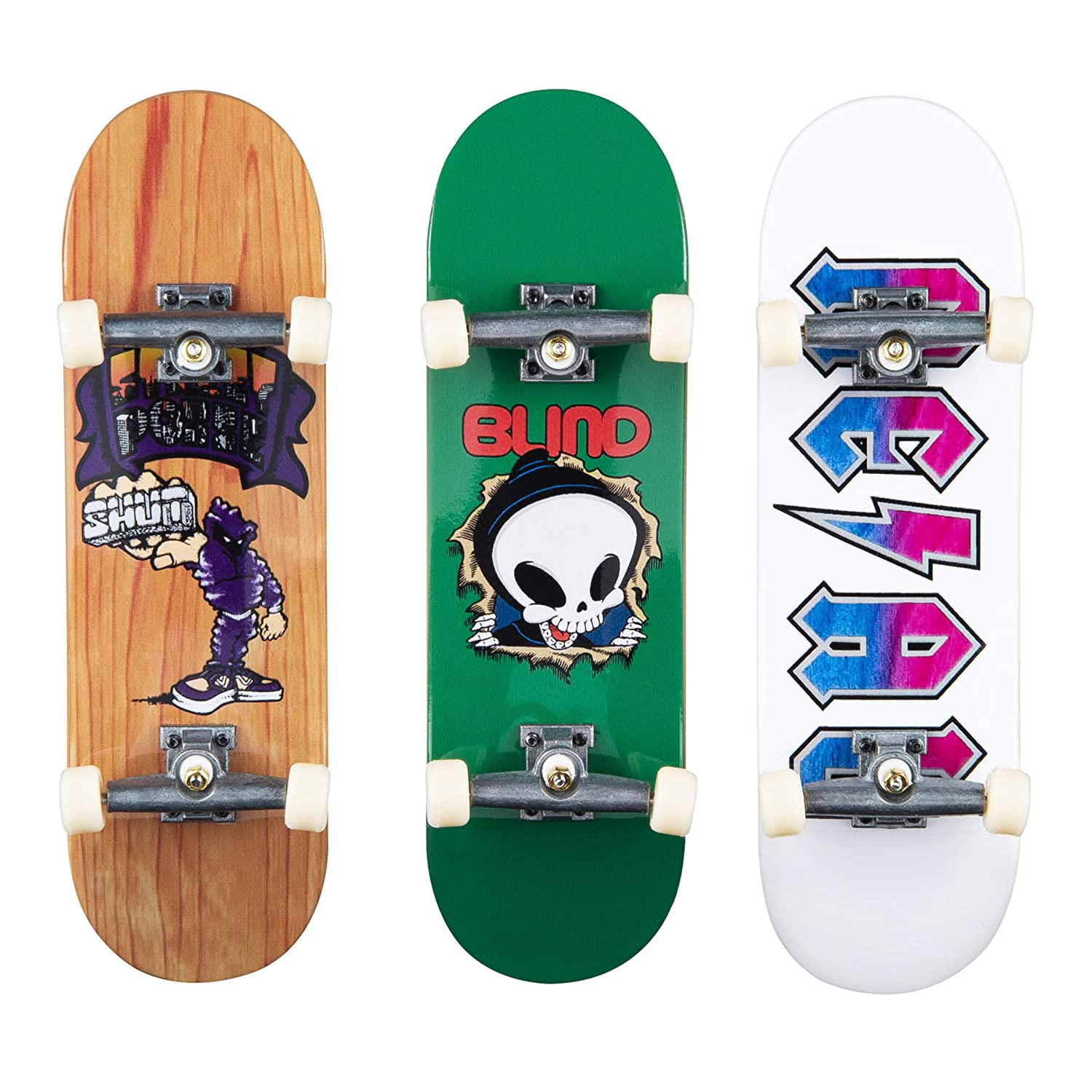 TECH DECK Ultimate Street Spots Pack with 3 Fully Assembled Exclusive Boards Coast to Coast Edition