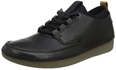 Clarks NATURE IV - Baskets basses noir G9ExEAMU