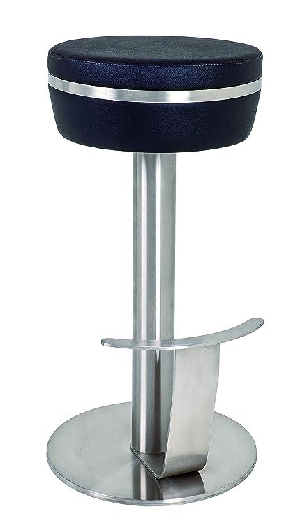 HAKU Möbel 92568 Barhocker, Edelstahl, Höhe 78 cm, schwarz: Amazon ...