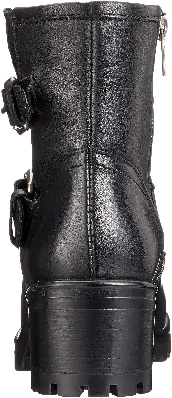 Steve Madden Gain Ankleboot, Bottes Classiques Femme Noir Black Leather 017