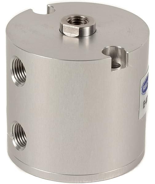 Fabco-Air L-5-X Original Pancake Cylinder 1//2 Bore Diameter x 3 Stroke Double Acting Maximum Pressure of 250 PSI