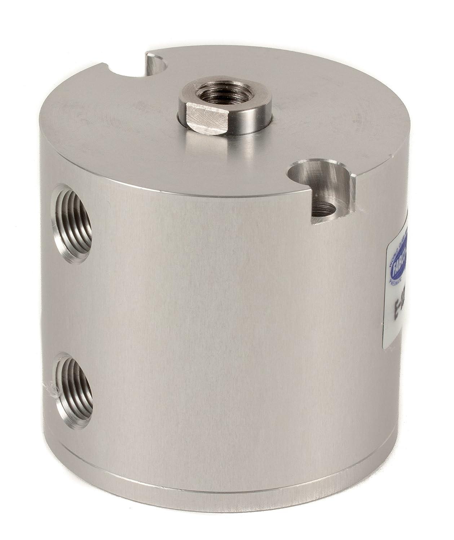 Fabco-Air E-121-X Original Pancake Cylinder, Double Acting, Maximum Pressure of 250 PSI, 1-1/8' Bore Diameter x 1' Stroke 1-1/8 Bore Diameter x 1 Stroke FAB   E-121-X
