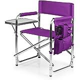 ONIVA - a Picnic Time Brand Portable Folding Sports Chair, Purple