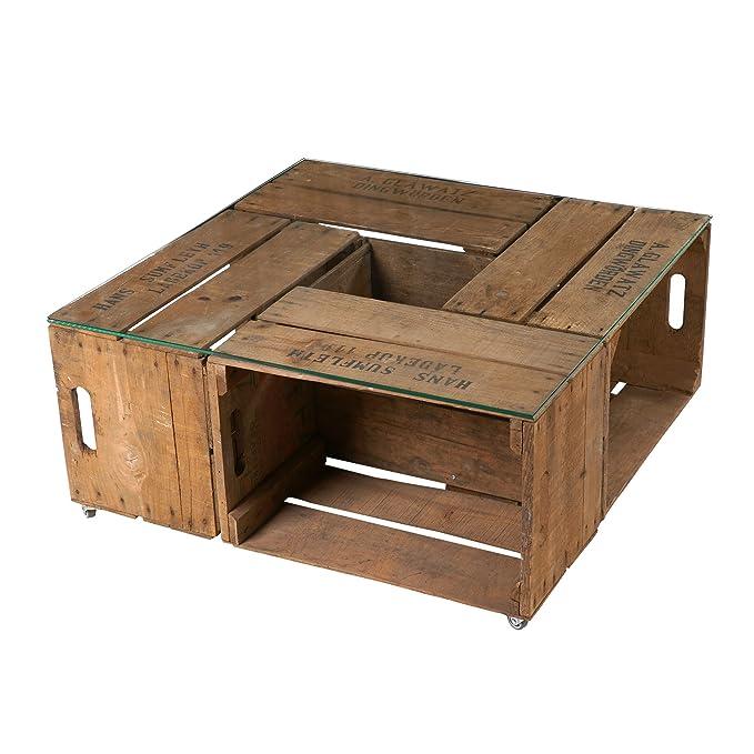 Vintage Mesa de Antiguos pera Cajas Incluye nítido Tablero ...
