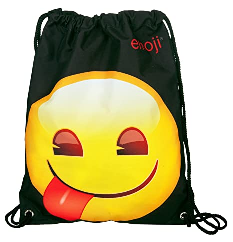 Undercover Bolsa para Zapatos Emoji con lengüeta, Aprox. 32 ...