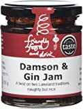 Friendly Food and Drink Damson and Gin Jam 210 g |(Pack of 2)