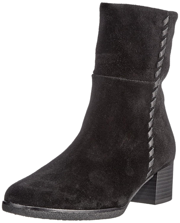 Gabor Shoes Comfort Sport, Botas para Mujer42 EU|Negro (87 Schwarz Micro)