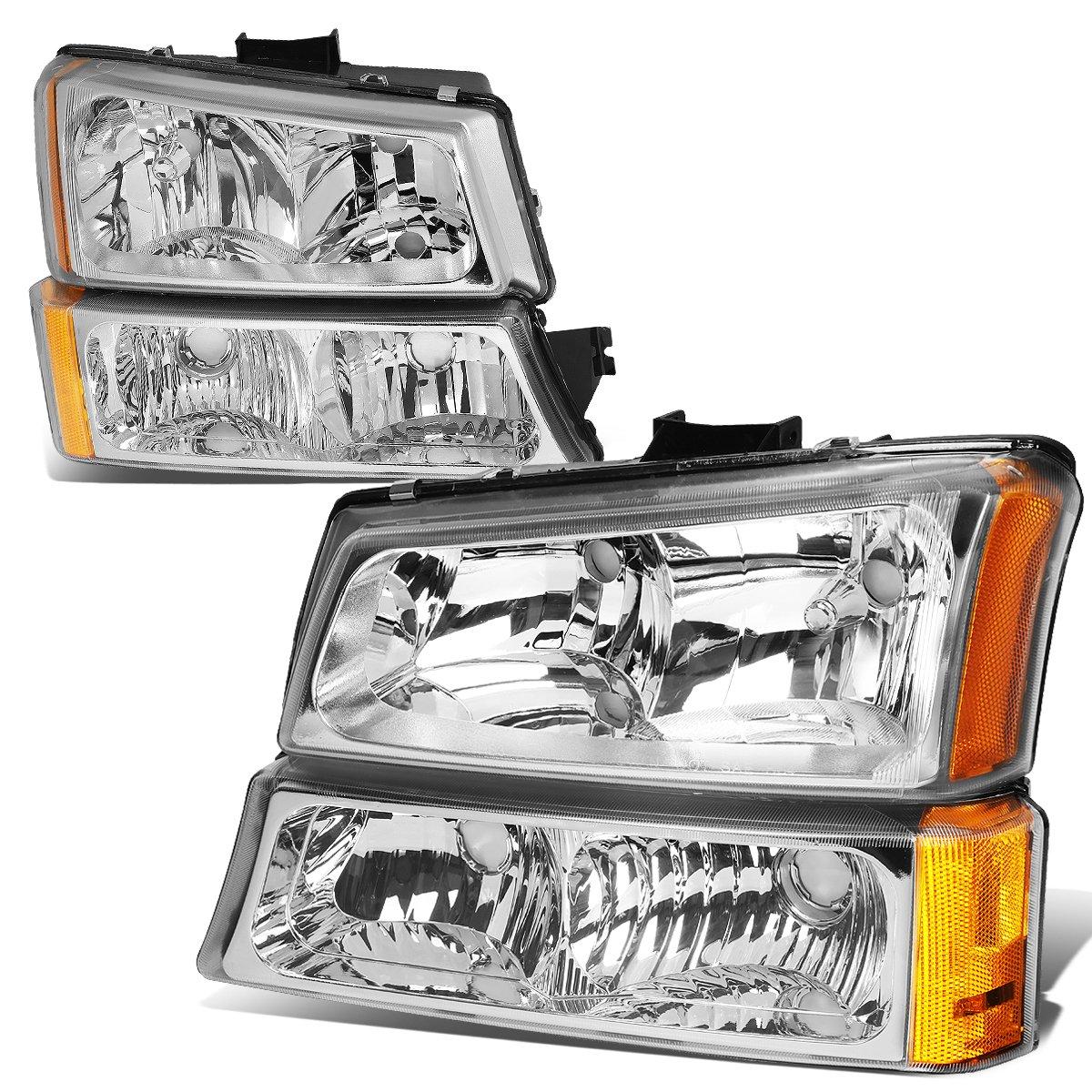 Chevy Silverado/Avalanche 4-PC Headlight Lamps