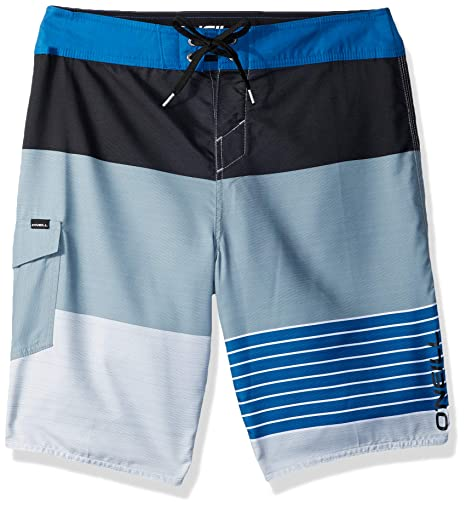772108d513 Image Unavailable. Image not available for. Color: O'Neill Men's Catalina  Avalon Lennox Stripe Boardshort ...