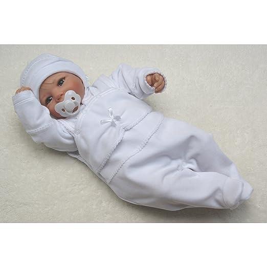 Set TupTam Unisex Baby Taufanzug Nicki 3-TLG