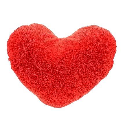 Swan casa suave dulce amor forma de corazón cojín peluche de manta almohadas de peluche de