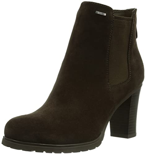 34d1d5c6e06 Geox Womens Trish Amphibiox B Suede Biker Boots, Brown (Coffeec6009), 7 UK:  Amazon.co.uk: Shoes & Bags