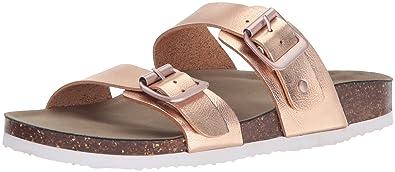 d698a3cf0 Amazon.com | Madden Girl Women's BRANDO Flat Sandal | Slides