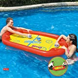 Ginzick Super Fun Floating Hockey Game Inflatable Pool Toy