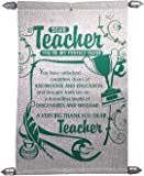Natali Farewell Gift for Teachers - Teacher Scroll Card
