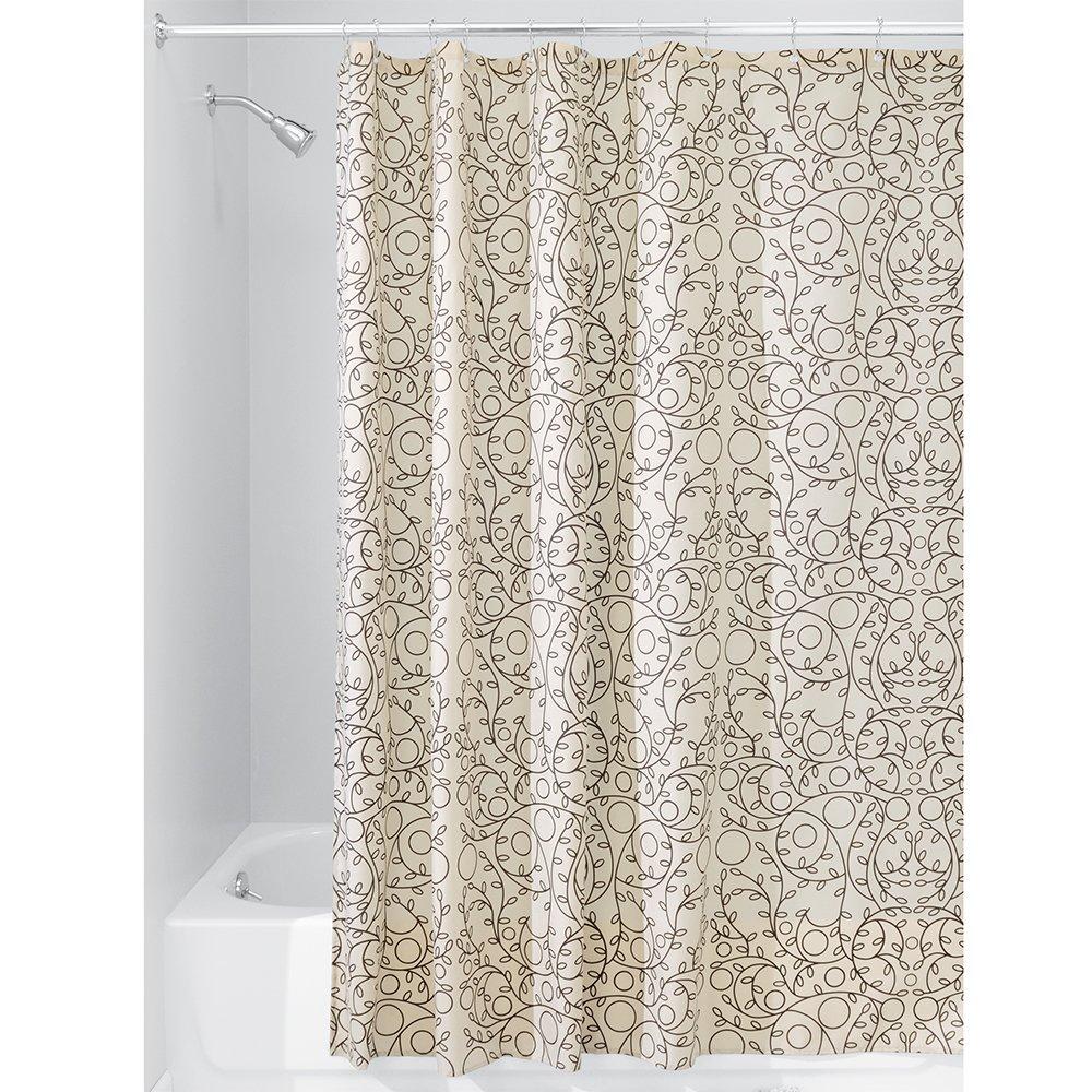 Amazon.com: InterDesign Twigz Fabric Shower Curtain, 72\