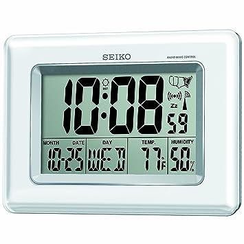 Seiko QHR020WLH Advanced Technology R Wave Desk Clock