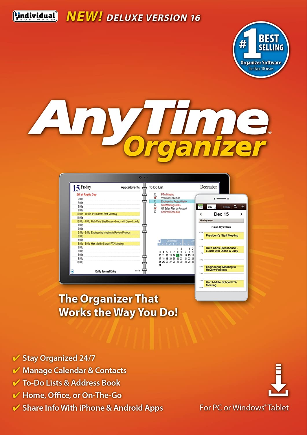 AnyTime Organizer Deluxe 16 [PC Download] 81akdf7F8QL