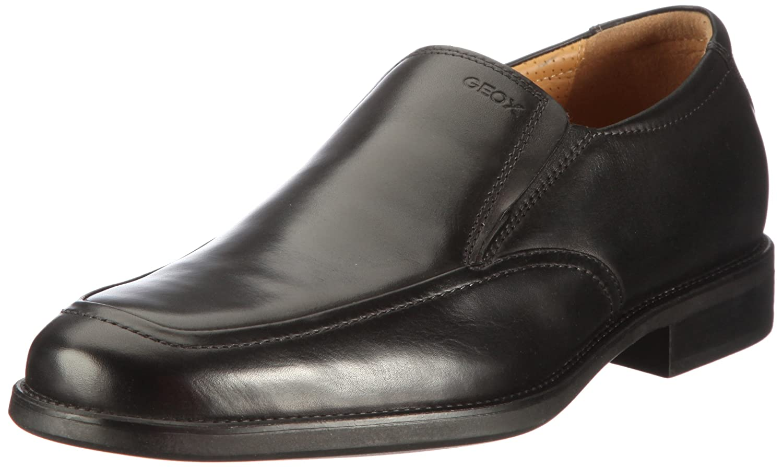 Geox U Federico Z, Mocasines de Cuero para Hombre, Negro (Black C9999),: Amazon.es: Zapatos y complementos