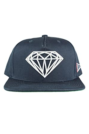 Image Unavailable. Image not available for. Colour  Diamond Supply CO  Brilliant Mens Snapback Cap Hat Navy Blue aece445f80fa