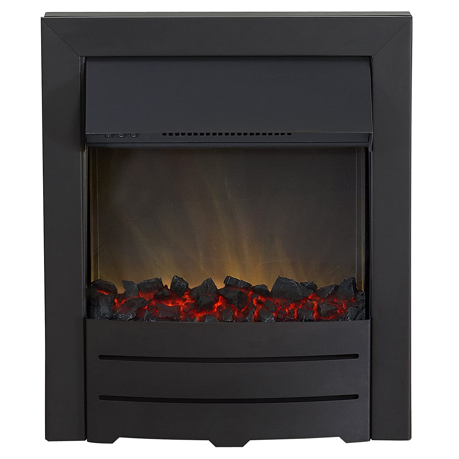 Adam Colorado Electric Inset Fire, 2000 W, Black Fired Up Corporation Ltd 10183