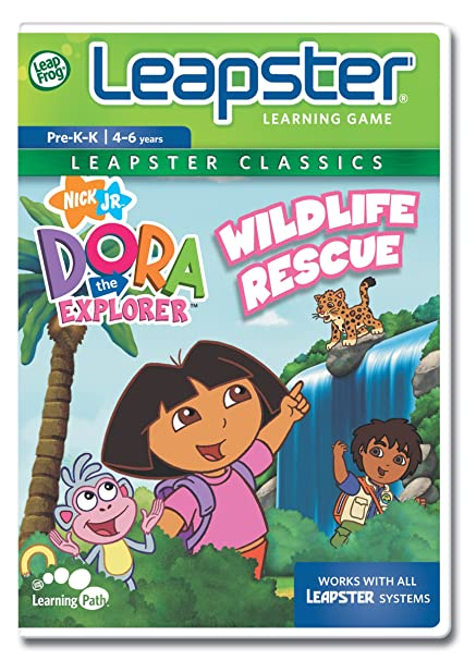 Amazon Com Leapfrog Leapster Educational Game Dora The Explorer