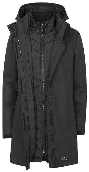 Trespass Alissa II Womens Waterproof 3 in 1 Jacket with Hood  Amazon ... 25b05f359