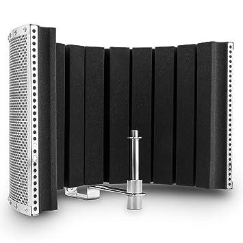 auna MP32 MKII Mikrofon Akustik Schirm (Schall-Absorber, Diffusor ...