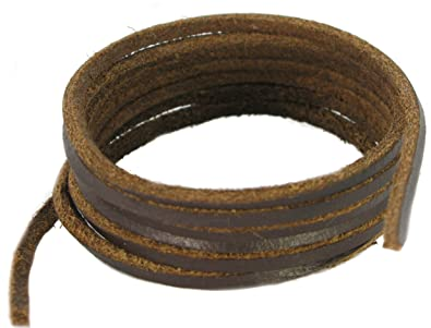 79afc98a417c Patin et Boot -lacets en cuir marron foncé 200cm  Amazon.fr ...
