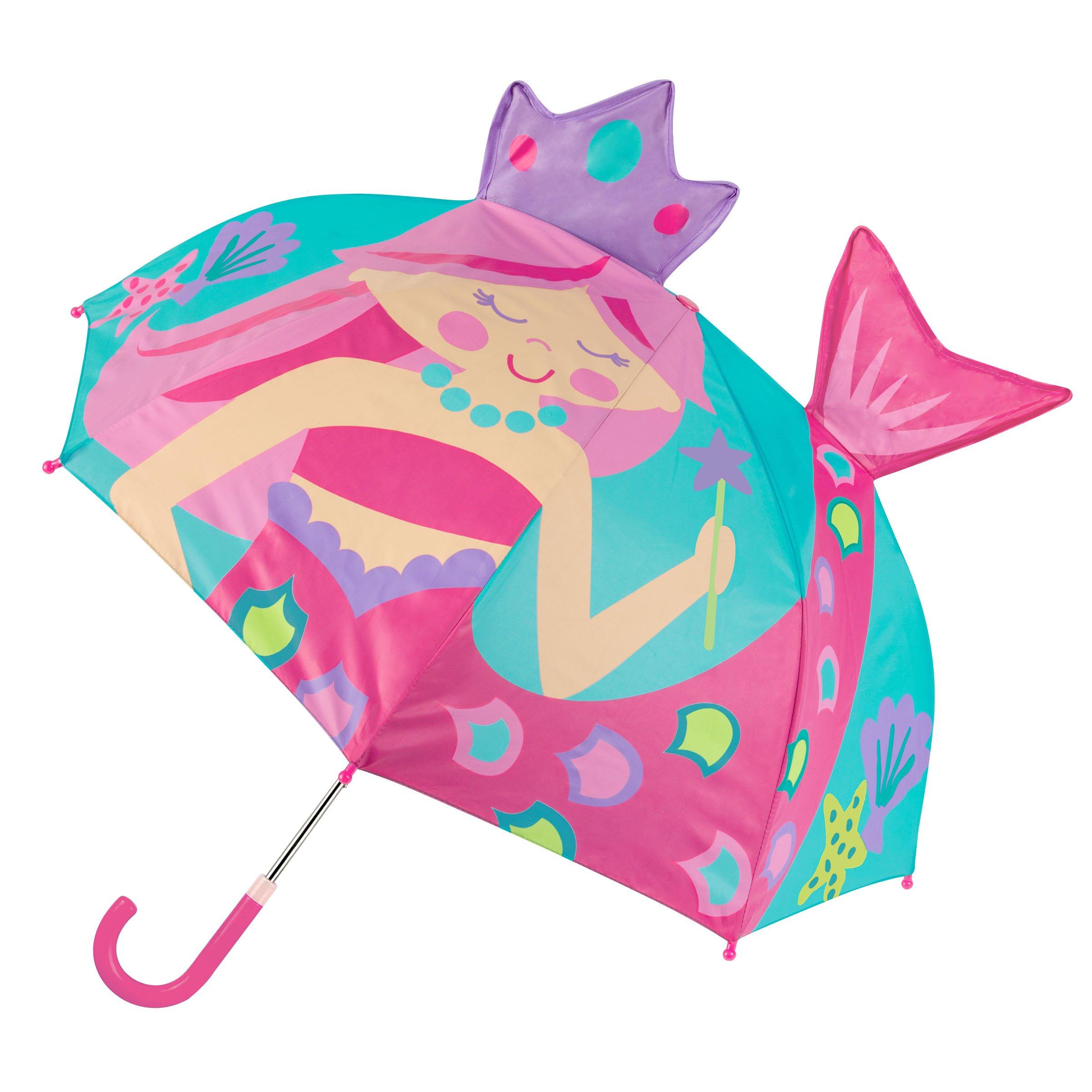 Stephen Joseph Pop Up Umbrella, Pink Mermaid