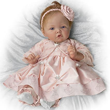 Amazon Com Baby Doll Pretty As A Princess Baby Doll By Ashton