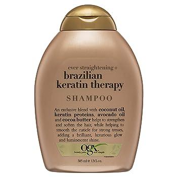 Organix Ever Straightening Brazilian Keratin Therapy Shampoo