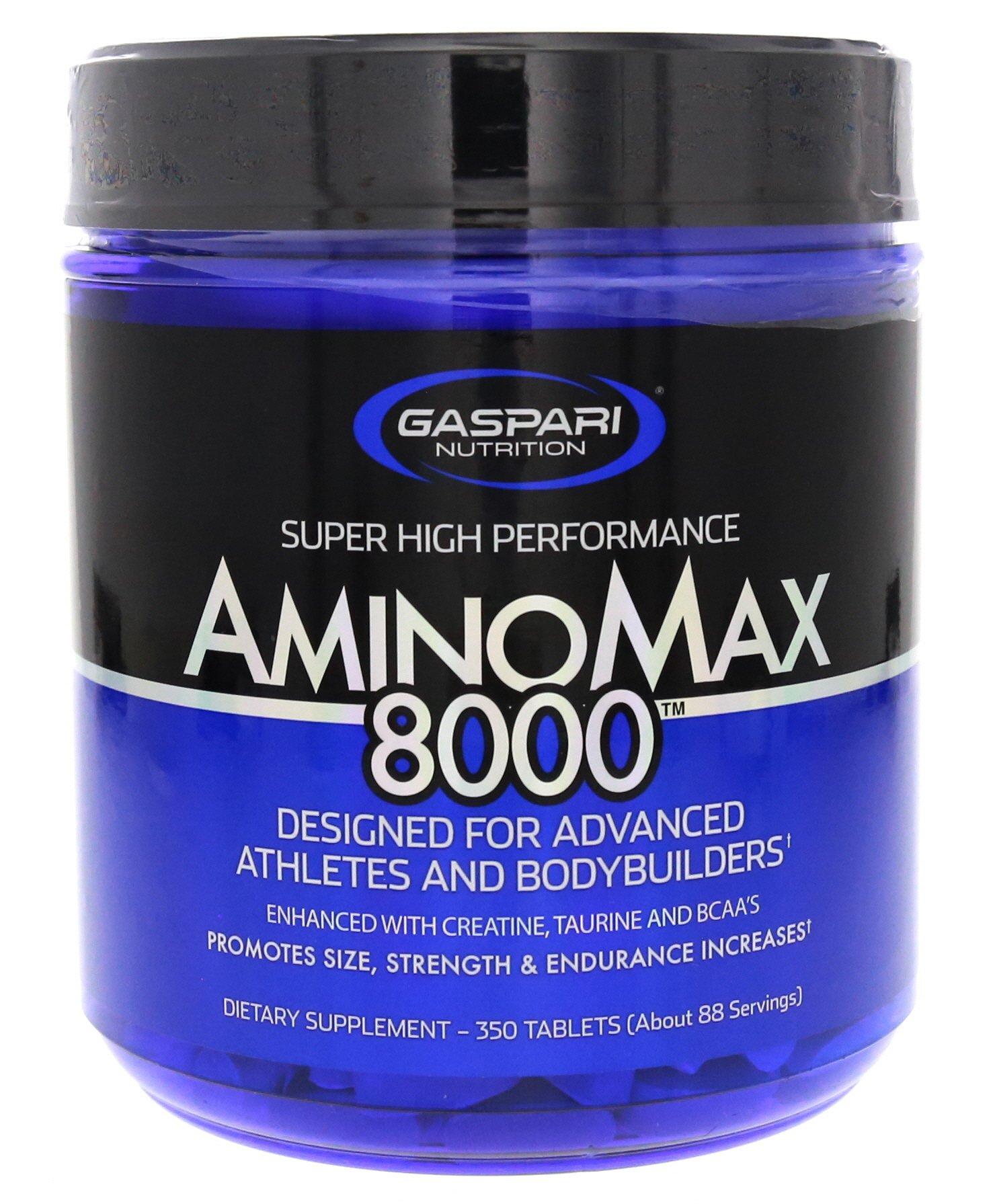 Gaspari Nutrition Amino Max 8000 - 350 Tablets by Gaspari Nutrition