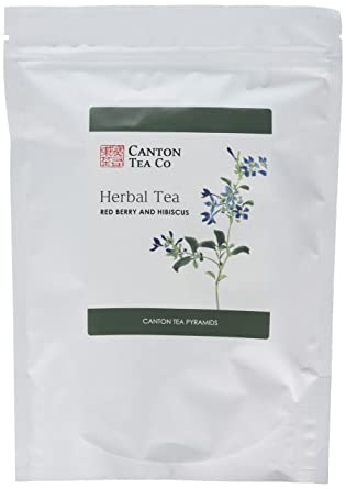 Canton Tea Pyramids Red Berry And Hibiscus Teabags 50 Teabags