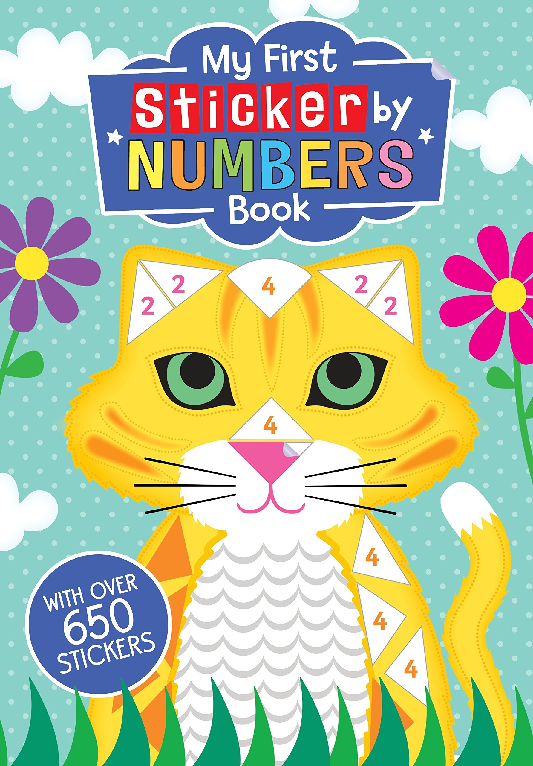 My First Sticker By Numbers Book Price Stern Sloan