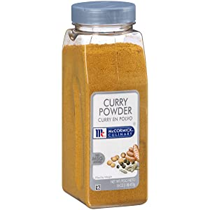 McCormick Culinary Curry Powder, 16 oz - One 16 Ounce Container of Curry Powder Spice Blend of Coriander, Turmeric, Nutmeg, Clove, and Ginger Perfect for Curries and Shrimp Dishes