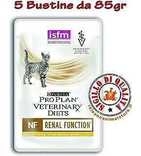 Purina Veterinary Diet gato NF renal Function al pollo 5 bolsitas de 85 gr