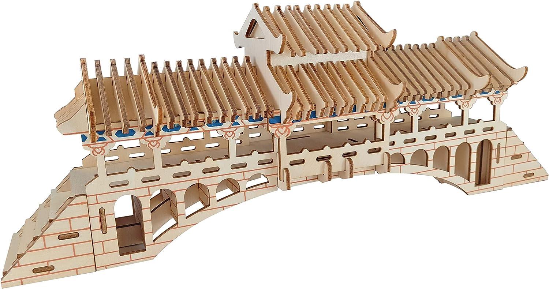 ZHXYY 3D Puzzle Building-DIY Madera Jigsaw montado Modelo de ...