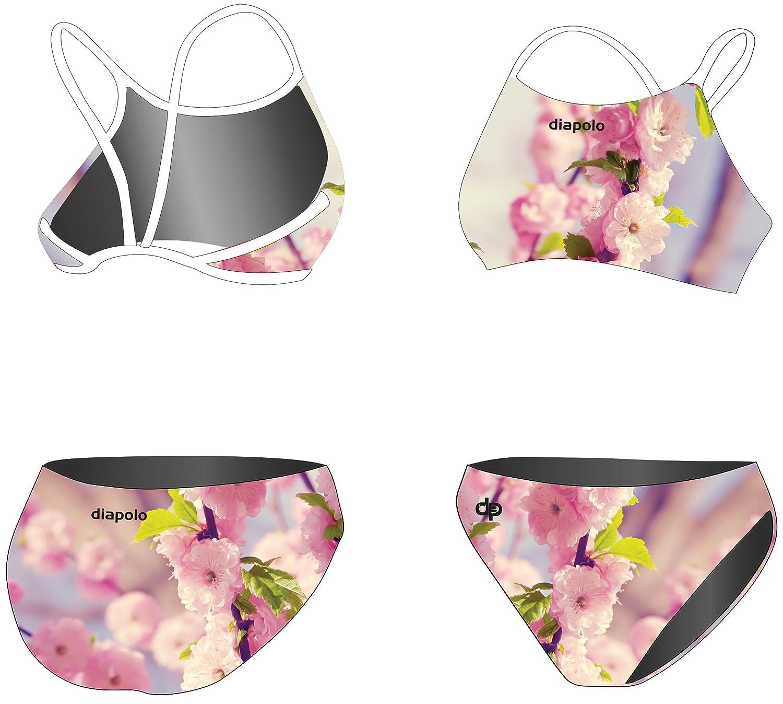 Diapolo Wild Cherry Sport-Bikini Zweiteiler aus der Spring Kollektion für Schwimmen Synchronschwimmen Wasserball Thriathlon