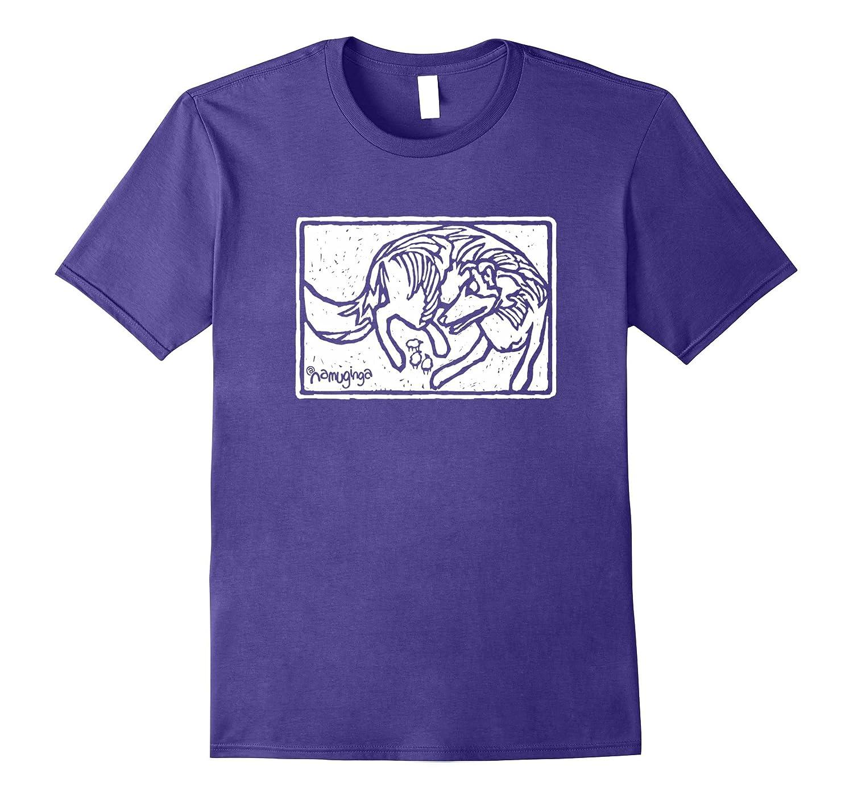Rough Collie - Lassie dog lover's shirt-Art