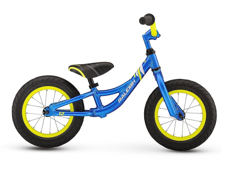 a7c7370c2bb Amazon.com : RALEIGH Bikes Kids Lil Push Balance Bike, One Size, Blue :  Sports & Outdoors