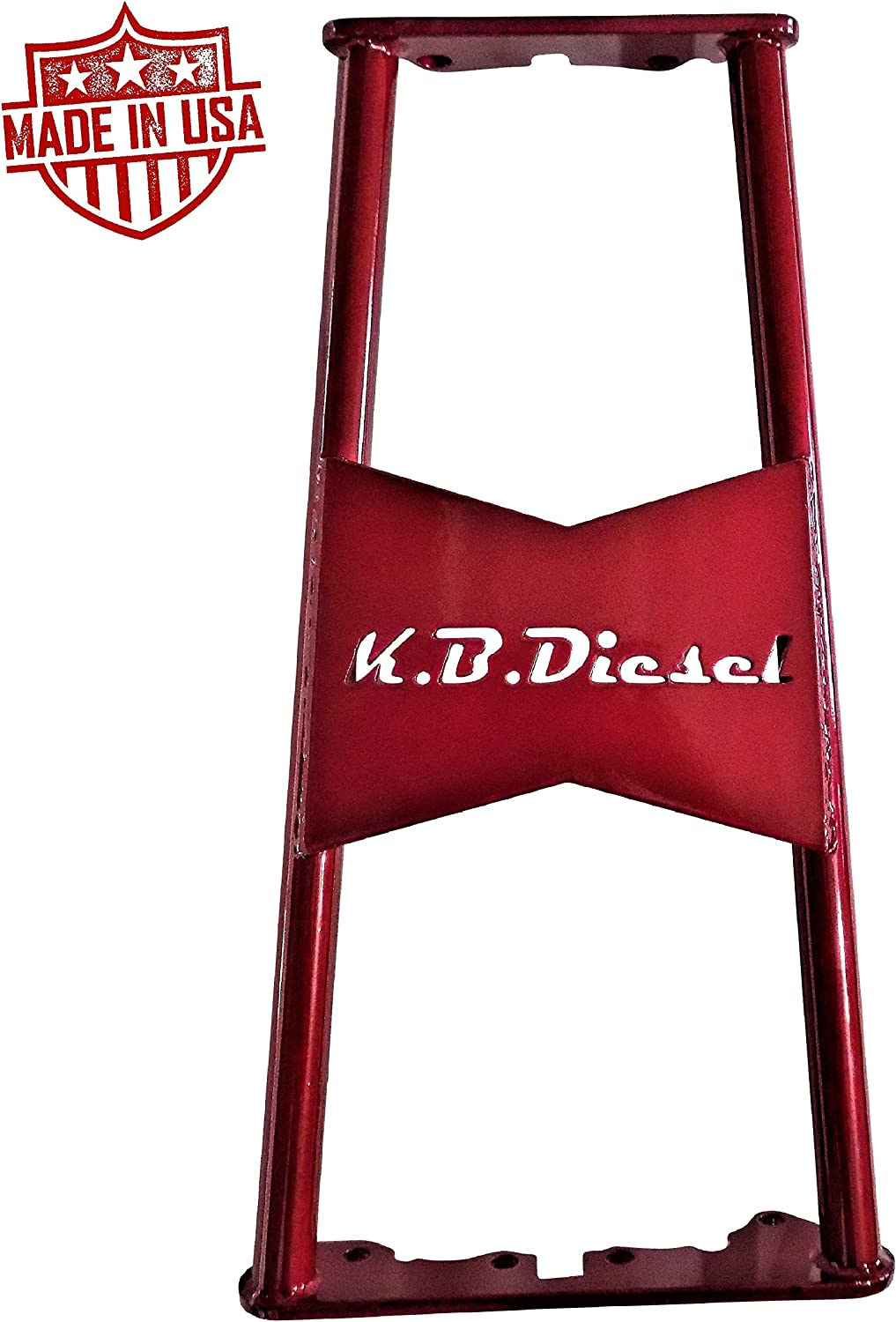 Dark Candy Red KBDP ZF6 Transmission Brace for 2001-2006 Chevy GMC 6.6l Duramax LB7 LLY LBZ Made In USA